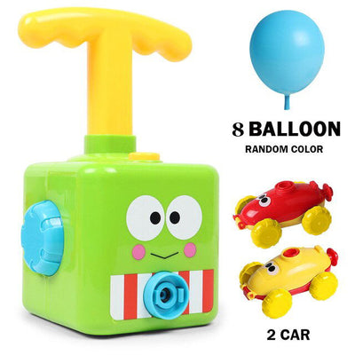 Balloon Launcher & Powered Car Toy Set - BigBoomidea