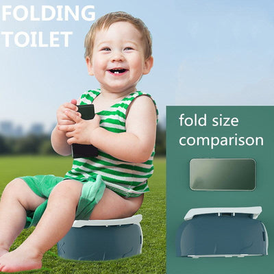 Portable Kids Folding Travel Potty Training Toilet Seat Stable - BigBoomidea