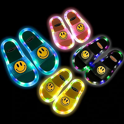 Kids LED Luminous Slipper - Smile - BigBoomidea
