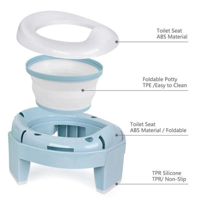 Portable Foldable Baby Potty Training - BigBoomidea
