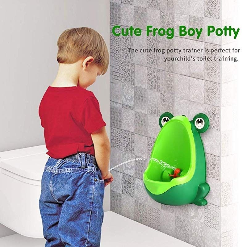 Frog Potty Training Urinal For Boys - BigBoomidea