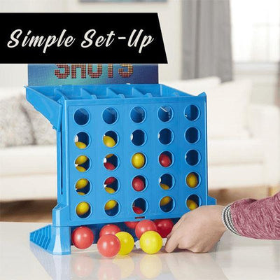 Bouncing Ball Linking Shots Connect Four In a Row to Win - BigBoomidea