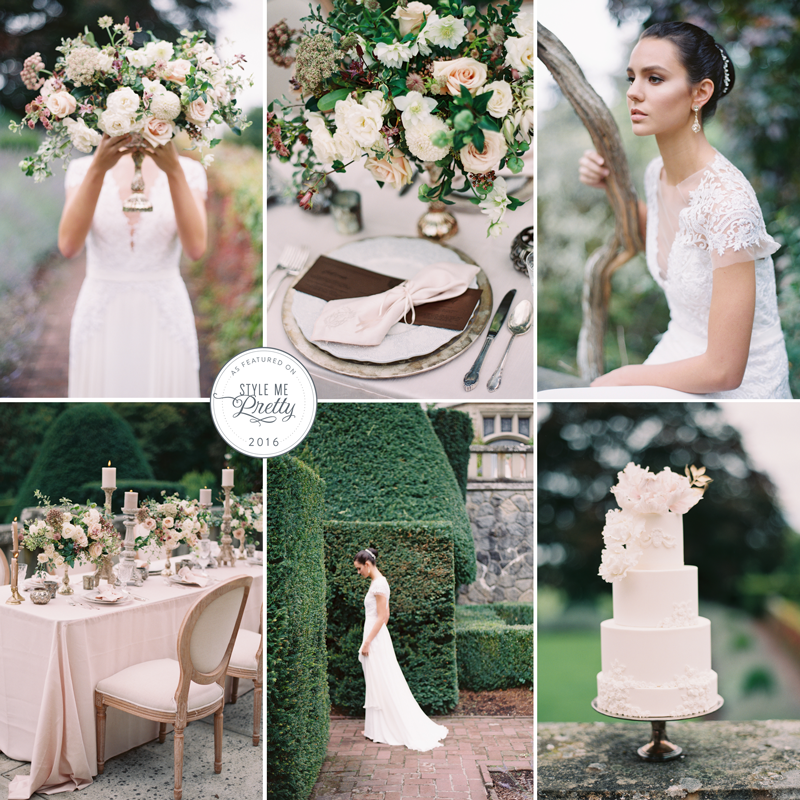 hatley castle princess wedding inspiration the borrowed collection