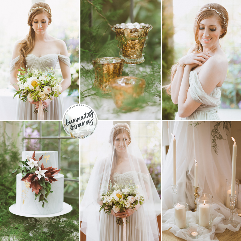 cecil green secret garden wedding inspiration as seen on burnett's boards