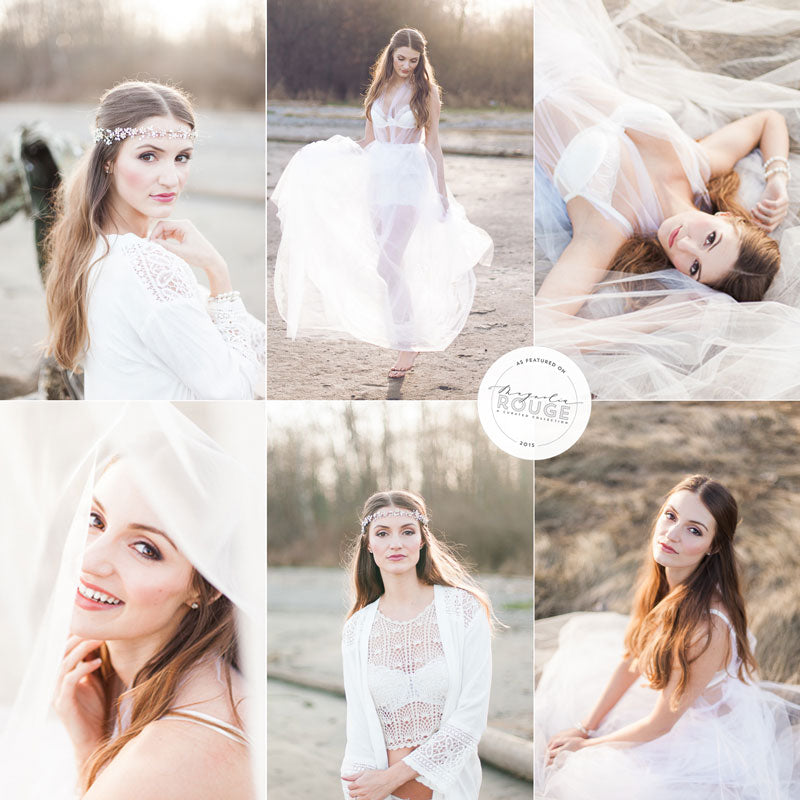boho bridal boudoir photography as seen on magnolia rouge