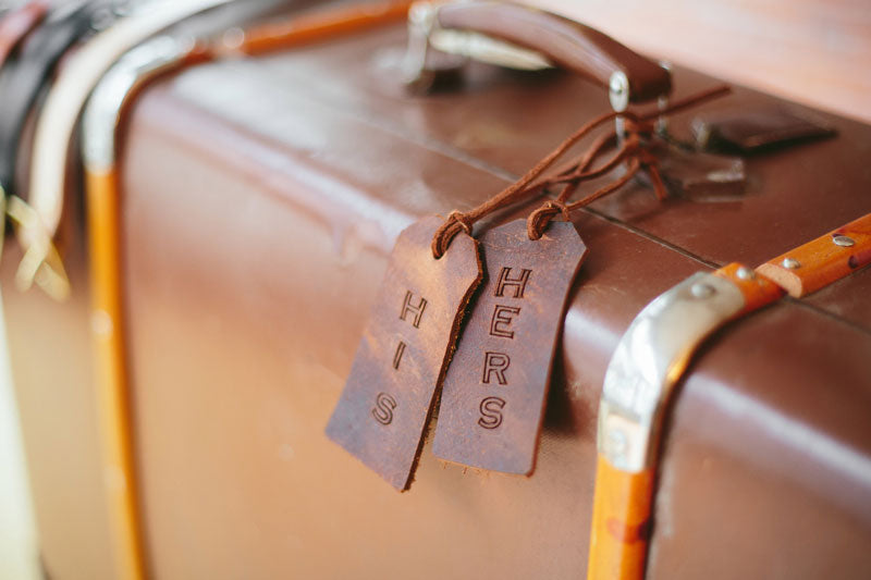 leather-luggage-his-hers-tags-wedding-gift-ideas-pop-up-wedding-shoppe-vancouver