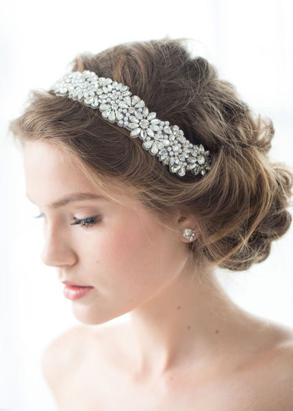 Jenny Packham ananti headband on model