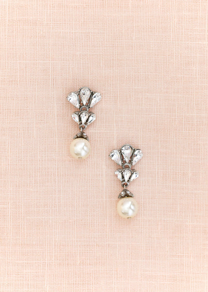 Crystal Cluster Pearl Drops