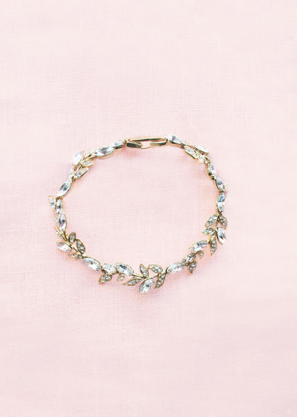 Marchesa Gold Leaf Bracelet
