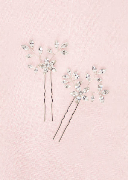 everthine Swarovski crystal bridal hair pins
