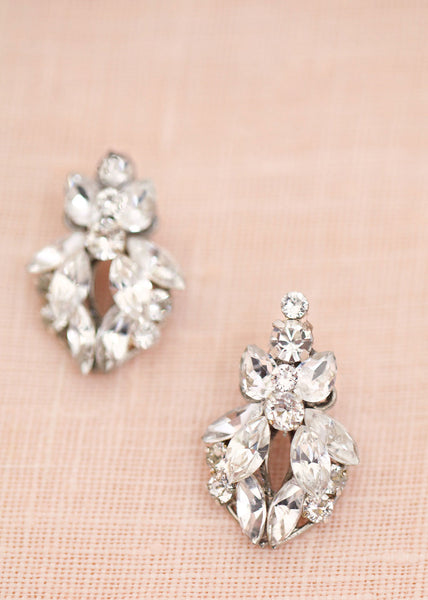 Navette Stud Earrings