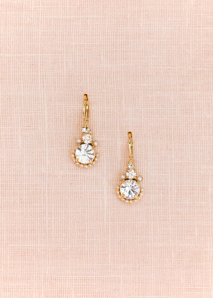 Palace Gems Drop Earrings