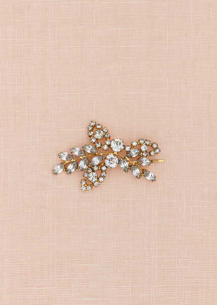 Primrose Hairpin (Antique Gold)