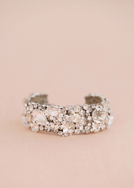 Statement Crystal Cuff