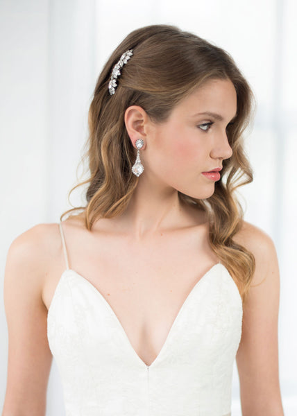haute bridal bridal earrings EC240