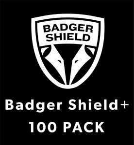 Badger Shield+ (100 Pack)