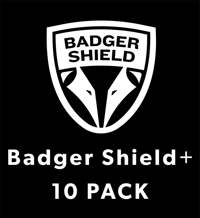 Badger Shield+ (10 Pack)