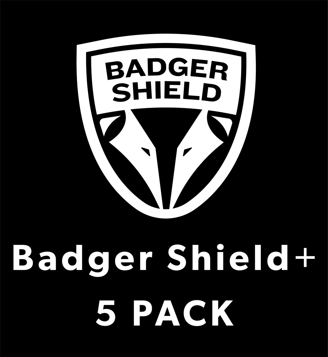 Badger Shield+ (5 Pack)