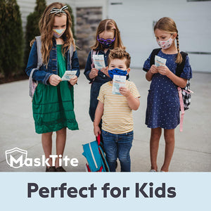 MaskTite - Face Tape, No Fogging Glasses. No Slipping Masks