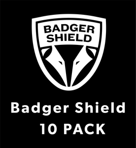 Badger Shield Protective Face Shield 10 Pack