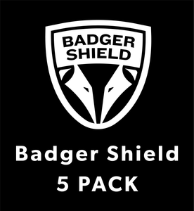 Badger Shield Protective Face Shield 5 Pack