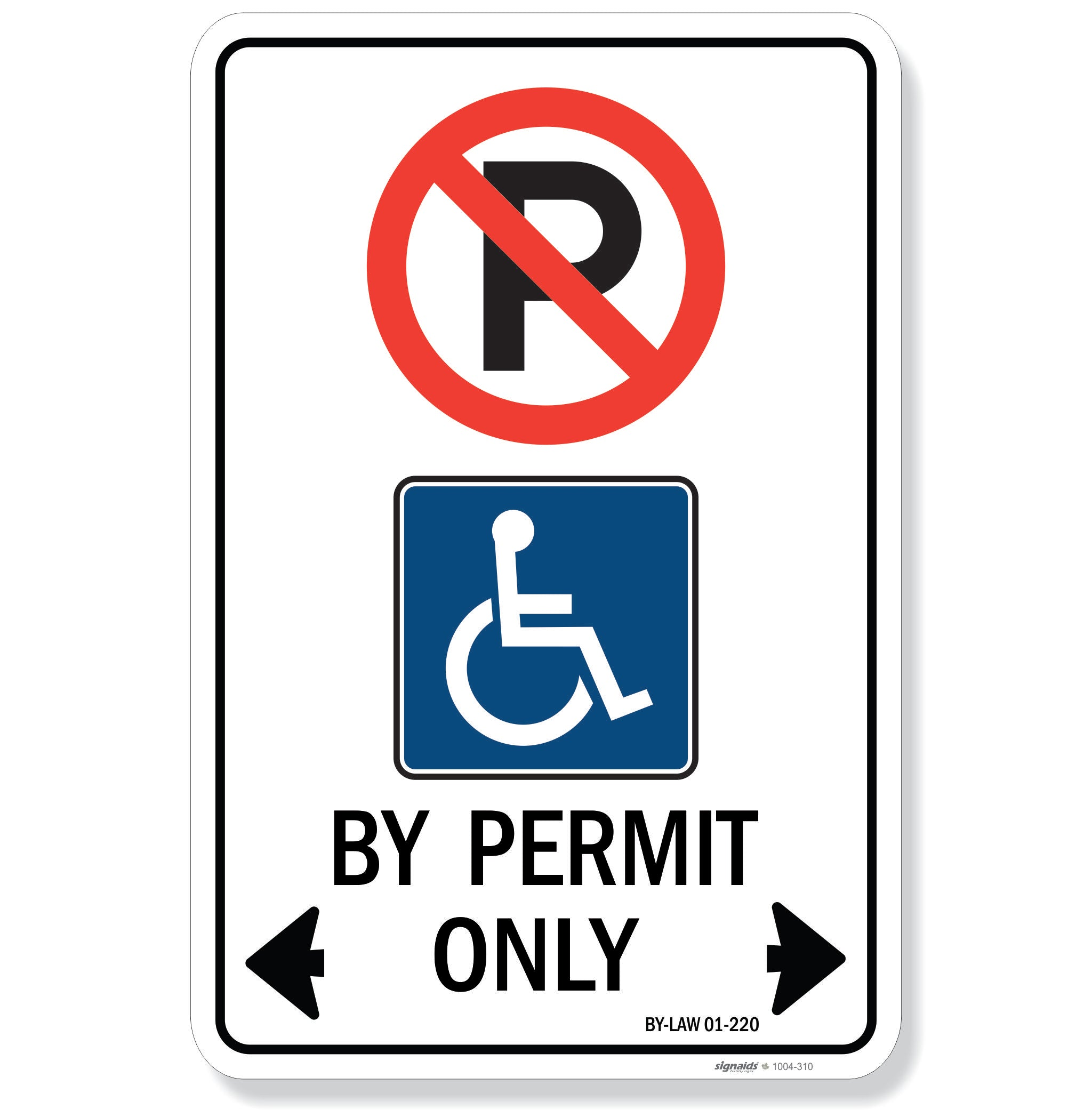 Accessible Parking Sign - City of Hamilton