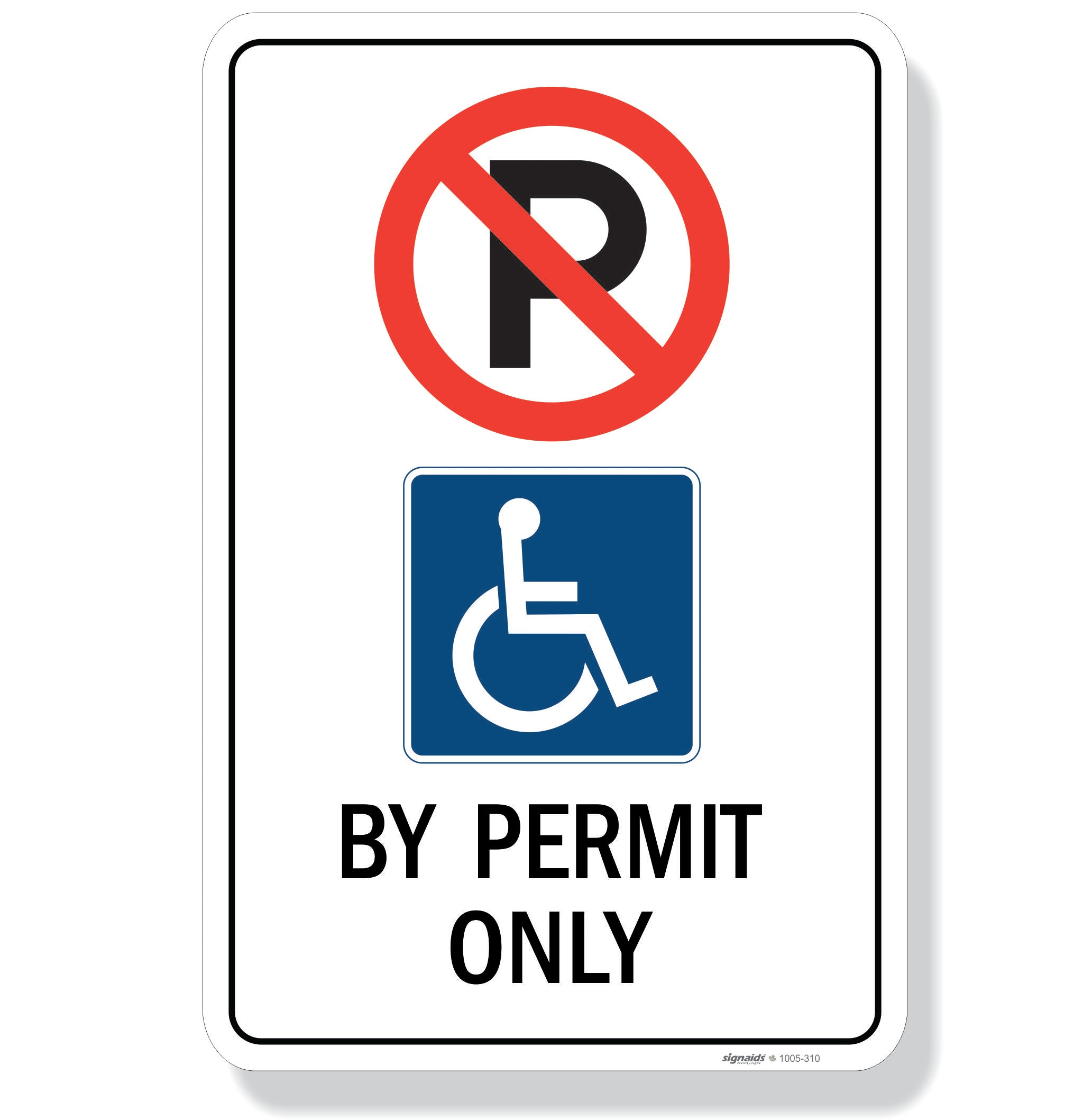 Provincial Accessible Parking Sign