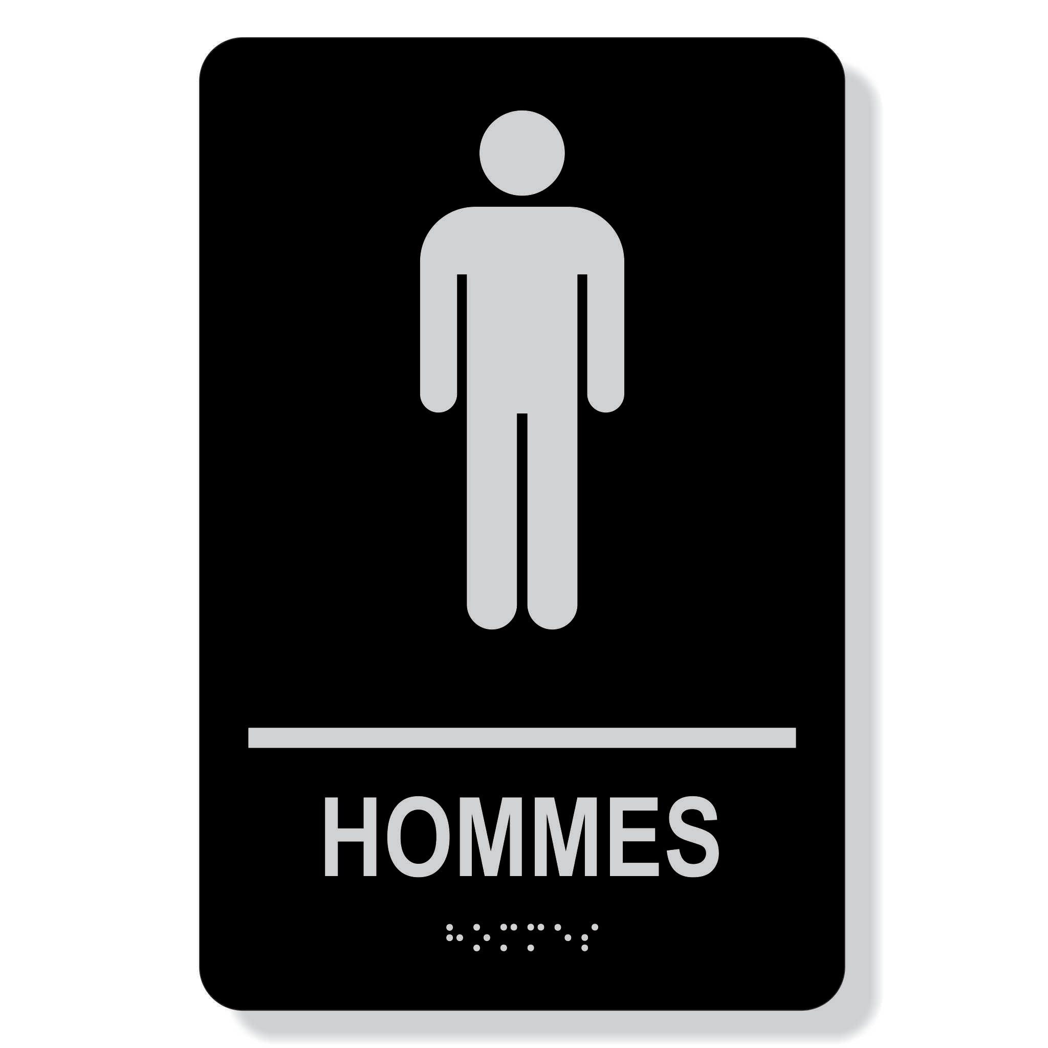 "TJX -6"" x 9"" HOMMES not accessible"