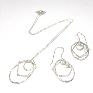 Set - Earring and Necklace - KZS876