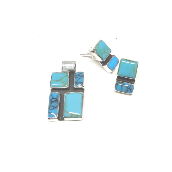 Set - Earring and Pendant - KZS518