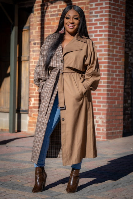 Double Standards Trench Coat