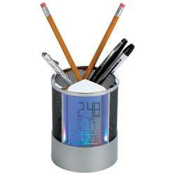 Pen Holder Clock - New Blue Store
