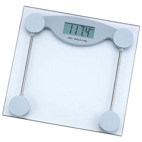 Glass Electronic Bathroom Scale - New Blue Store