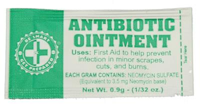 100 Antibiotic Ointment Packets - New Blue Store