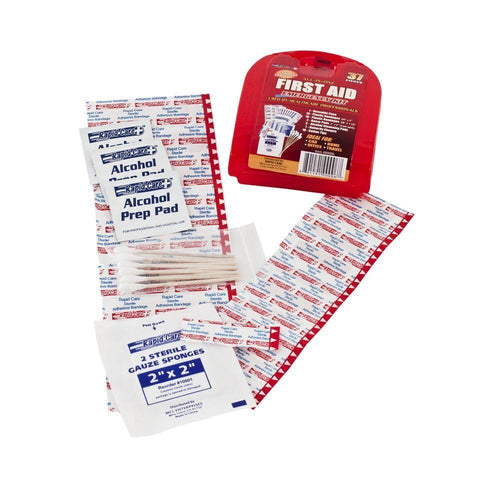 37 Piece Portable First Aid Kit - New Blue Store