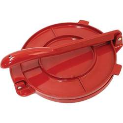 "8"" Red Tortilla Press - New Blue Store"