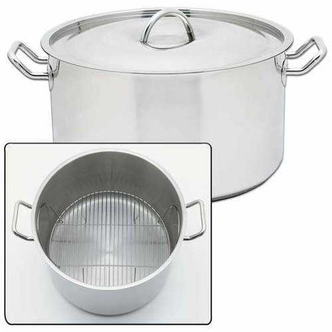 "42qt ""Waterless"" induction stockpot - New Blue Store"