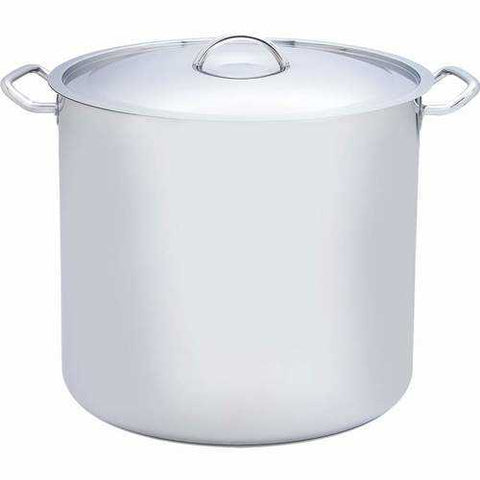 65qt 12-Element T304 Stainless Steel Stockpot - New Blue Store