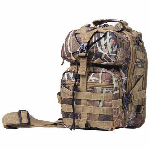 "11"" Camo Sling Backpack - New Blue Store"