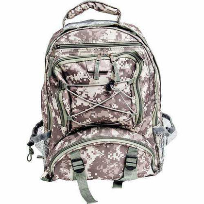 Digital Camo Water-Resistant Backpack - New Blue Store