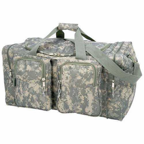 "Digital Camo Water-Resistant, Heavy-Duty 26"" shoulder tote bag - New Blue Store"