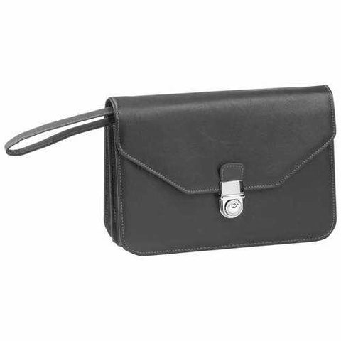 Expandable Faux Leather Clutch Purse - New Blue Store