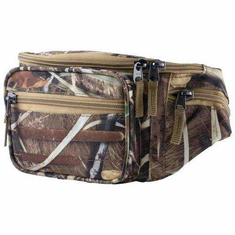JX SWAMPER CAMO WAIST BAG - New Blue Store