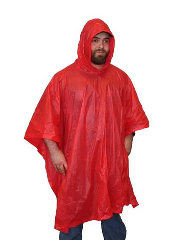 Vinyl Emergency Poncho - New Blue Store