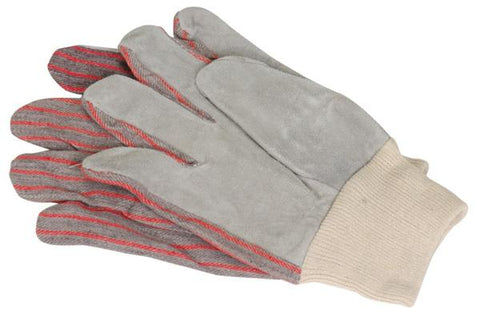 Leather Palm Work Gloves - New Blue Store