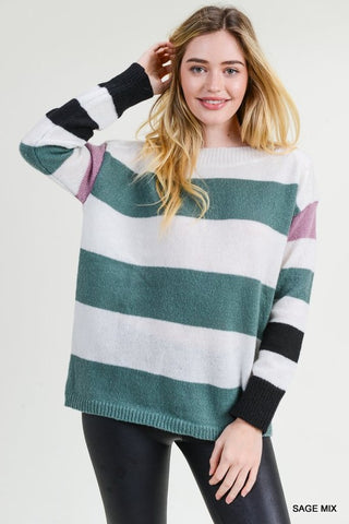 Banded Together Sweater