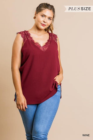 Cami Lace Tank