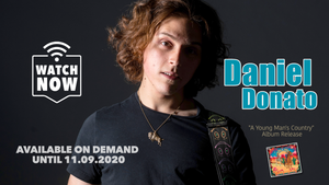 Ticket-Friday, August 7th: Daniel Donato