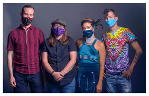 Mask Shot-Mimi Naja, Kyle Tuttle, Lindsay Lou, and Royal Masat