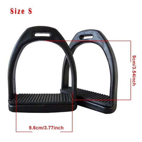 2PCS Children Adults Safety Durable Horse Riding Stirrups